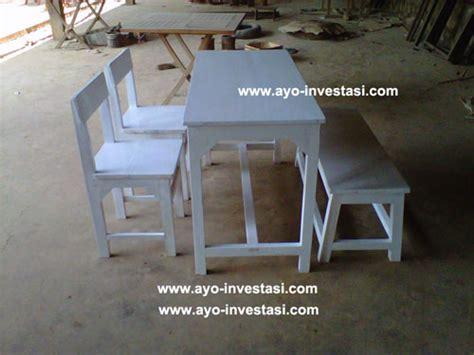 Meja Kursi Cafe Satu Set 4 Kurai meja cafe dan meja rumah makan