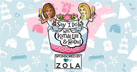 Kathie Lee And Hoda Giveaway - kathie lee and hoda say i do wedding contest
