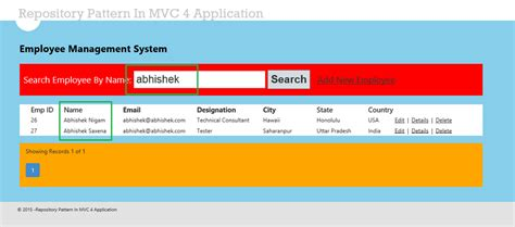 repository pattern c mvc 4 repository pattern in mvc application using entity framework