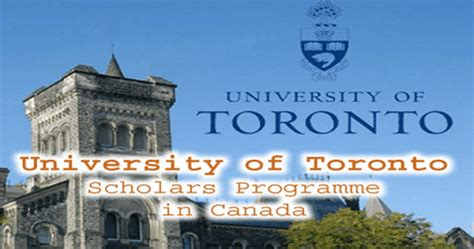 Avergage Scholarship Toronto Mba by Apply To Of Toronto Linjob