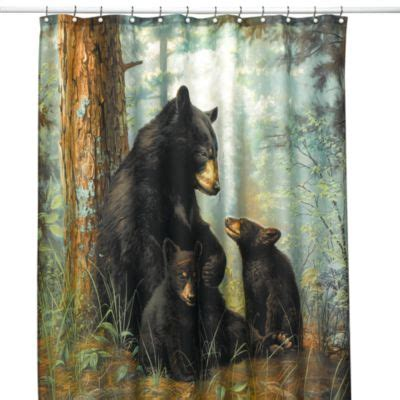 bears shower curtain buy bear shower curtains from bed bath beyond