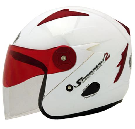 Kyt Scorpion King Solid 2 Visor daftar harga terbaru helm kyt half safety