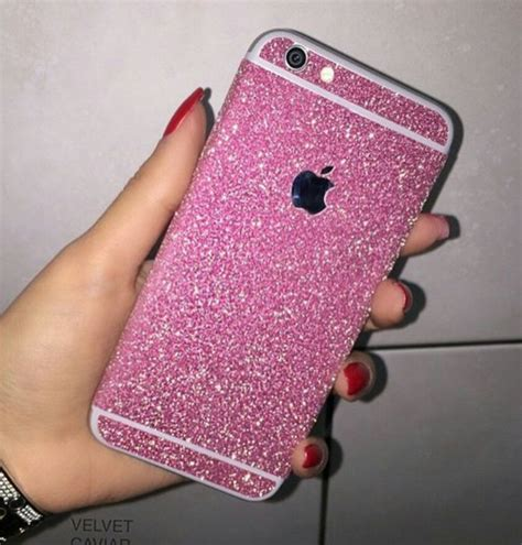 Casing Iphone 6 Plus Pink Glitter iphone 6 pink glitter we it iphone and pink