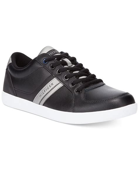 hilfiger sneakers mens hilfiger thorne sneakers in black for lyst