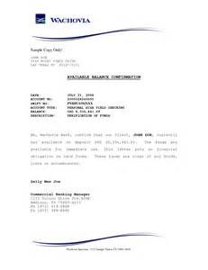 Balance Certification Letter letter bank account verification letter sample fraud alert letter
