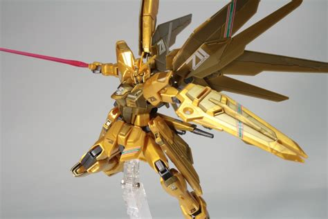 Gundam Hg Rx782 Gundam Gold Injection Color detailed review hgce 1 144 7 eleven freedom gundam