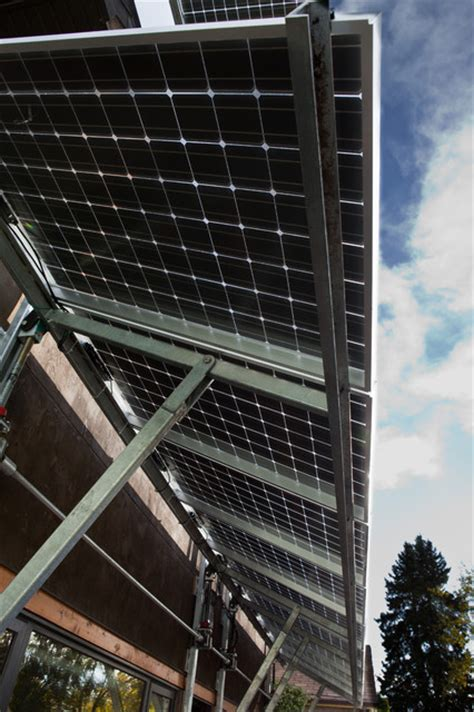 Solar Awning by Solar Panel Awning Exterior Edmonton