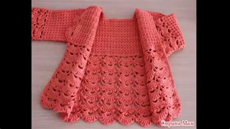 jacket pattern making youtube crochet is simple and easy jacket for girls step by step