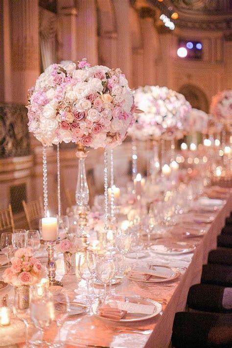 1000 ideas about blush wedding centerpieces on