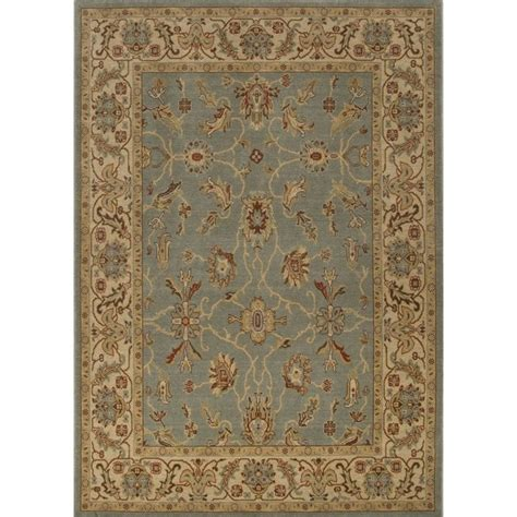 7 x 9 wool rug jaipur rugs orient 7 10 quot x 9 10 quot wool rug in blue and rug123565