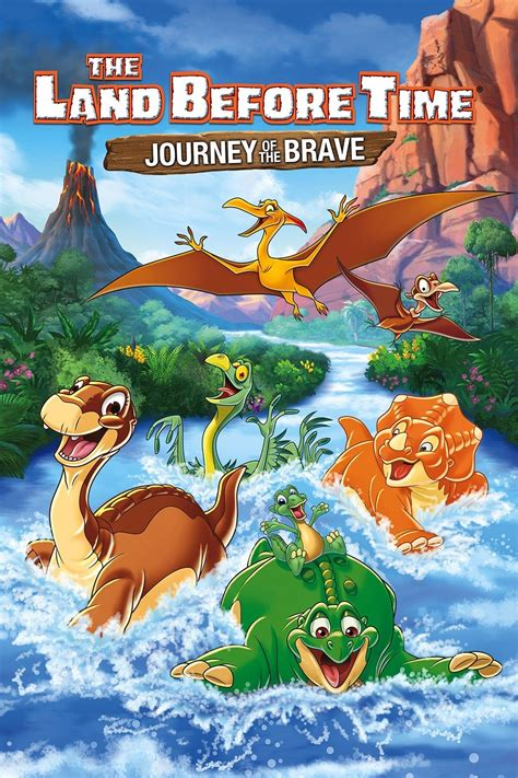 a before time the land before time xiv journey of the brave land