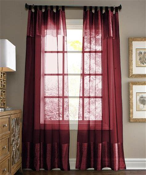 maroon curtains for bedroom loving this burgundy silk blend curtain panel on zulily