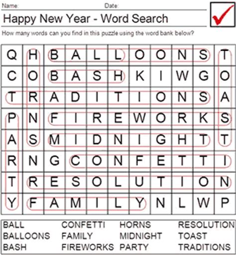 new year words in new years word search printable new calendar template site