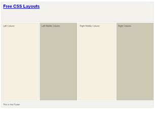 page layout design in css css layout 120 free css layouts free css