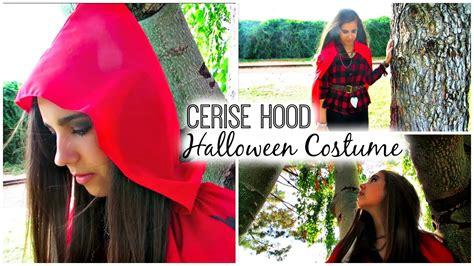 DIY Cerise Hood Halloween Costume   YouTube