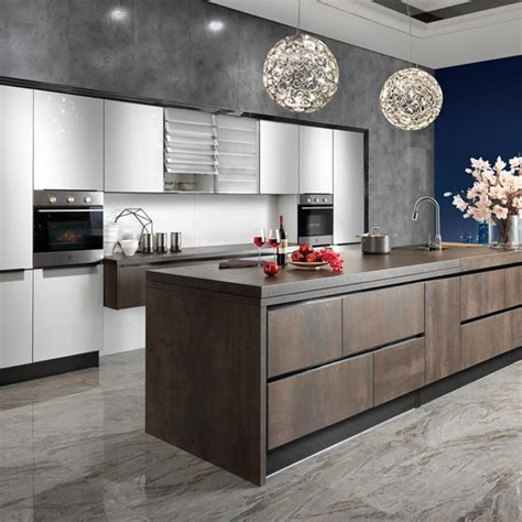 unique cabinets op14 068 modern unique spainish sintered rock kitchen cabinet