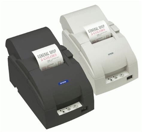 Epson Tmu 295p Printer Kasir jual printer kasir epson tmu 220d new usb manual cutter