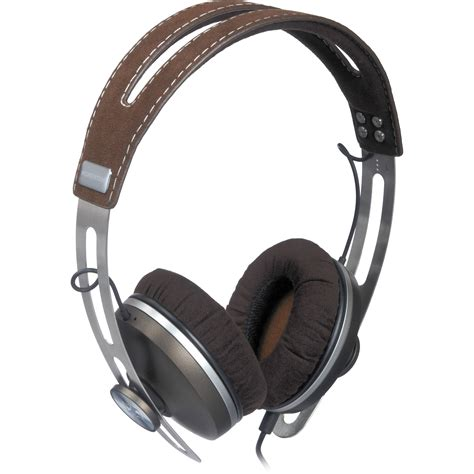 sennheiser momentum headphones sennheiser momentum on ear headphones brown 505796 b h photo