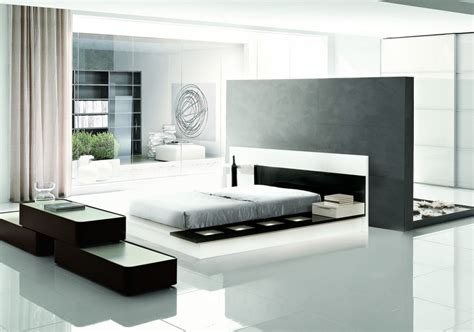 modrest impera contemporary lacquer platform bed beds