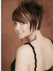 pic of back of spikey hair cuts red spiky short haircut for women love the cut and color