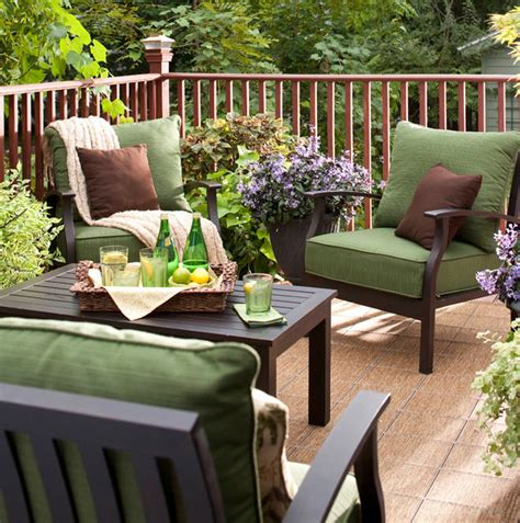 deck furniture ideas creative ideas cozy patio