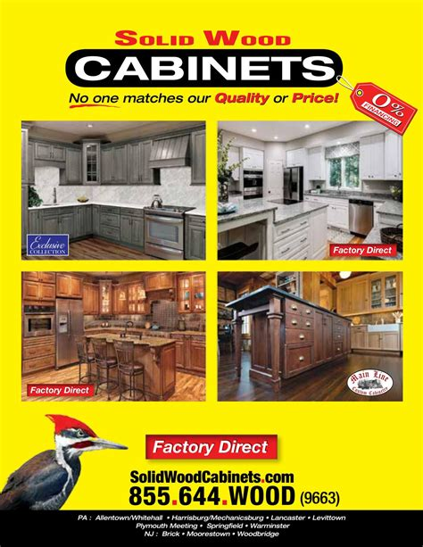 solid wood cabinets factory direct solid wood cabinets company by the cabinet king issuu