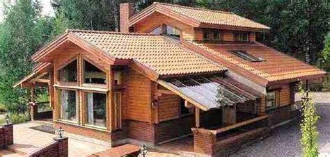 foto rumah kayu eropa gambar desain rumah