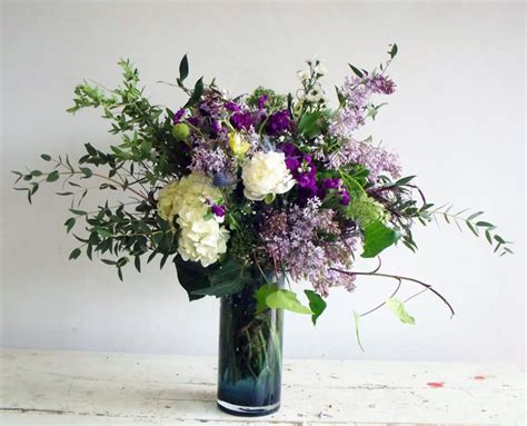 Vase Flowers Garden garden style bouquets in vase the monarch florists