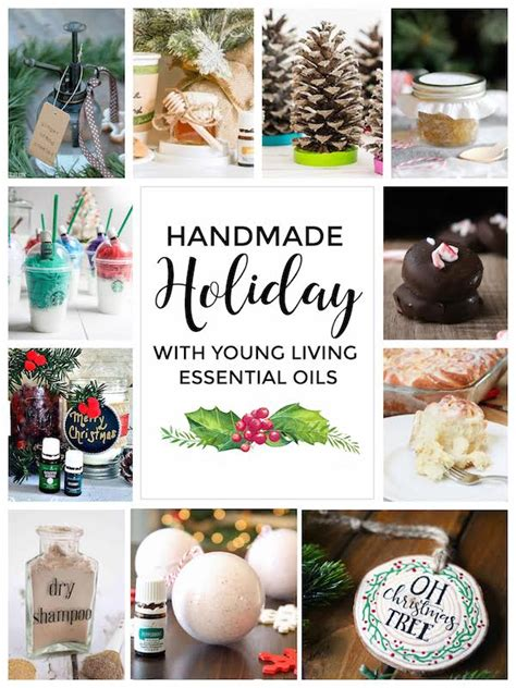 Handmade Aromatherapy Products - handmade essential infused honey gift ideas