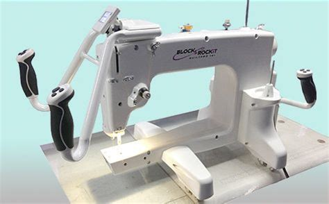 mid arm quilter block rockit quiltpro 14 machine