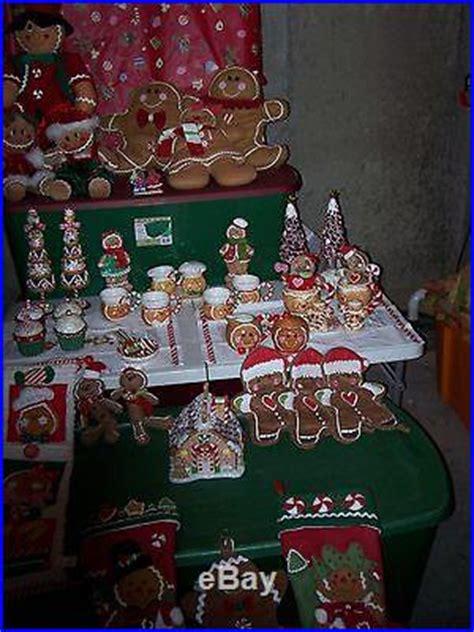 cracker barrel xmas decorations gingerbread and more gingerbread 45 whole lot from cracker barrel store decor