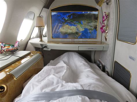 emirates airlines review first class seat on emirates airbus a380 brokeasshome com