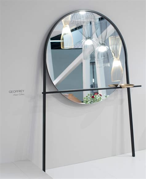 designboom tim spears ligne roset geoffrey by alain gilles doubles as mirror and