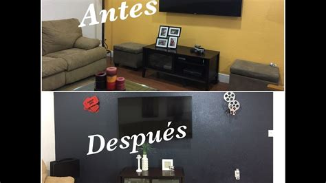 decorar sala de television tour de mi sala de tv ideas para decorar antes despues