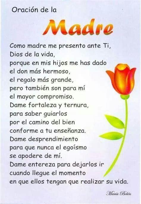 Oracion Con Imagen A 6 Meses De Una Hermana Fallecida | oraci 243 n de la madre oraciones pinterest