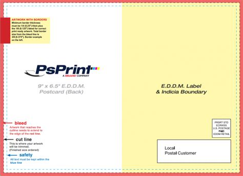 eddm postcard template 30 eddm postcard marketing tips