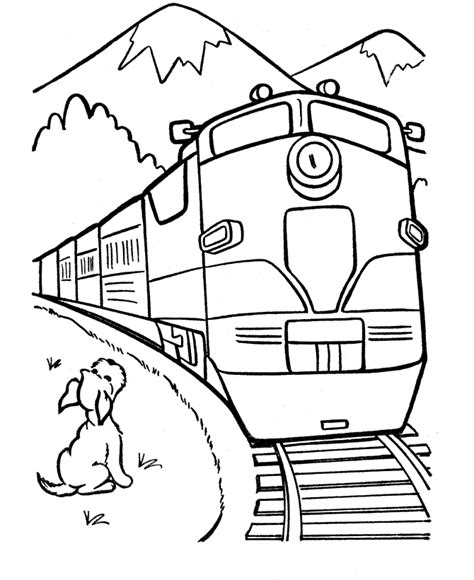 polar express train coloring pages coloring home