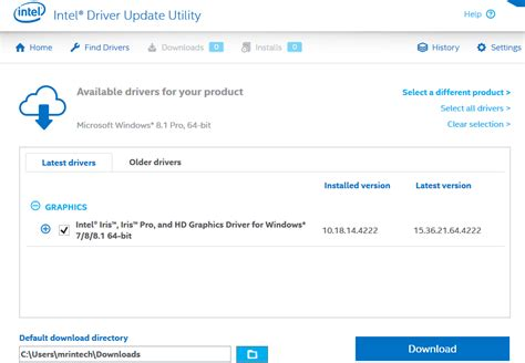Intel Auto Update Drivers by Image Gallery Intel Auto Update Utility