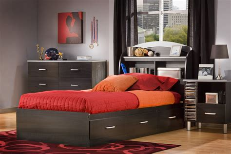 Bedroom Contemporary Captains Bed Twin Design With Beds