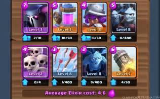 arena deck arena 7 deck p e k k a deck clash royale strategy