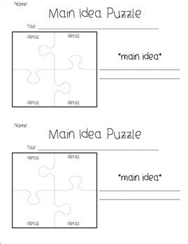 main idea and themes reading plus main idea graphic organizer worksheet for kindergarten