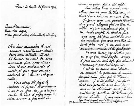 Mod Le De Lettre Administrative En Allemand lettre de le cornec pierre le mont val 233 rien pendant la