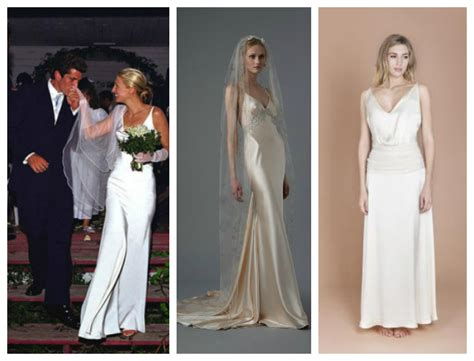 carolyn bessette kennedy wedding wedding dresses fashion