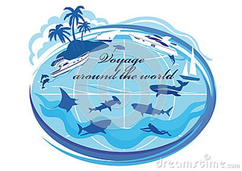 sailboat sign x ray around the world voyage stock vector image 47669433