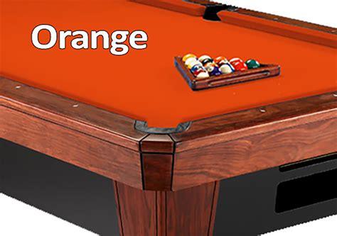 orange pool table cloth 8 simonis 860 orange pool table felt room guys