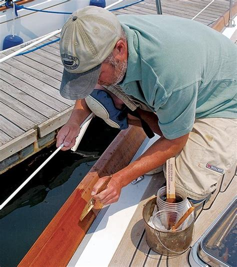 boat varnish varnishing perfection boatus magazine