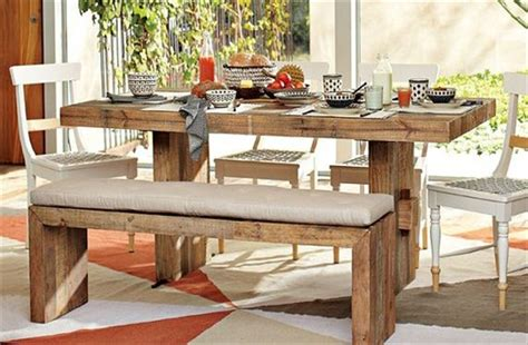 Dining Table Made From Pallets Recycled Pallet Dining Table 15 Ideas Shipping Pallets Tables And Pallet Furniture Plans