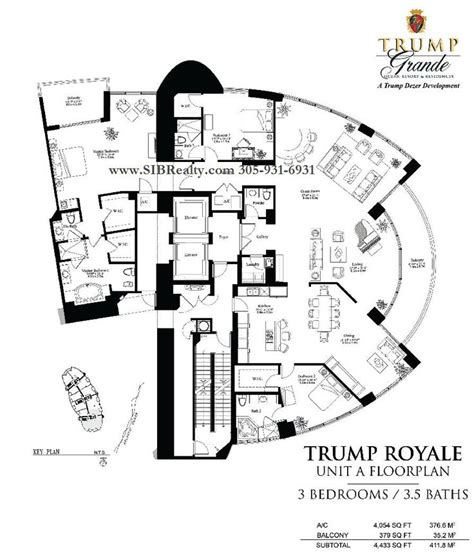 Trump Palace Floor Plans | penthouses in miami floor plans floor plan trump palace