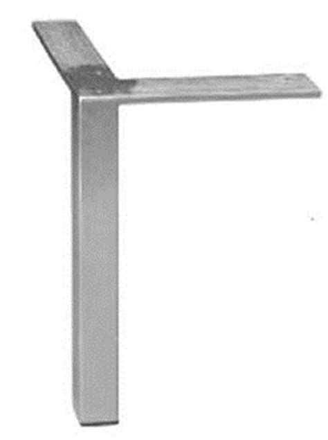 4 diy square 5 1 16 quot brushed chrome steel modern furniture legs 54003 metal legs figured