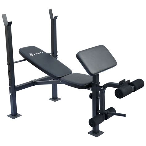 incline bench workout new deluxe incline workout bench preacher curls weight leg extension exercise ebay